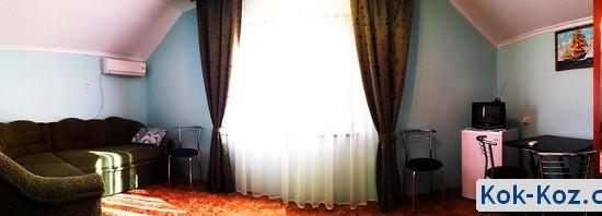 Двухкомнатный номер в отеле Кок-коз Судак Крым