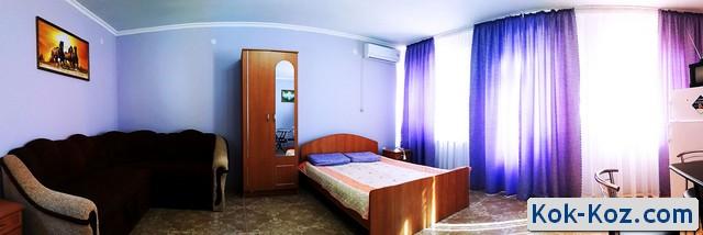 Трехместный номер в отеле Кок-Коз Судак